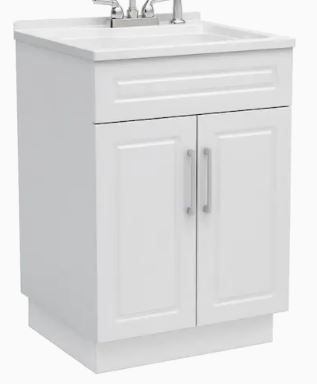 STYlE SElECTIONS All IN ONE lAUNDRY CABINET  1694069