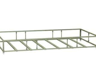 Carbon loft Cauthen Vintage Series Green Twin Metal Trundle  Retail 228 49