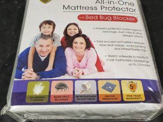 Original Bed Bug Blocker Zippered Mattress Cover Protector