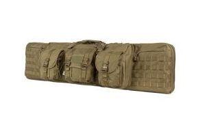 VISM Double Carbine 46in Deluxe Soft Gun Case  Tan