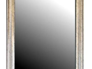 Hitchcock Butterfield Sheffield Vintage large Silver Transitional Mirror  Retail 273 99
