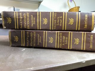 Complete Set of The Encyclopedia Americana  Annual  and Dictionary