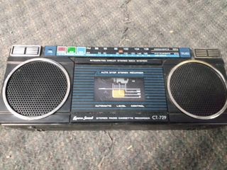 lenoxx Sound Stereo  Radio  and Cassette Recorder