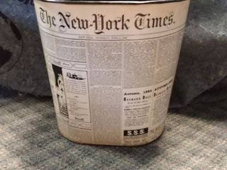 The New York Times Mini Trash Can