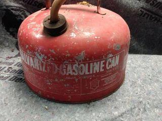 Vintage Eagle Galvanized Gasoline Can