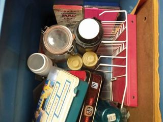 Box of Various Items