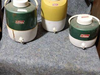 Coleman water coolers