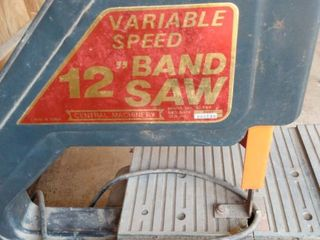 variable speed 12 in bandsaw