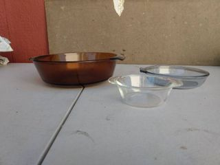Vintage Fire King and Pyrex Baking Dishes