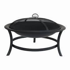 Black Fire Pit