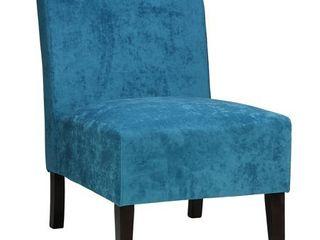 Porch   Den lawndale Blue Armless Accent Chair  Retail 116 99