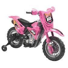 Pink 6V Dirt Bike  Retail 132 30