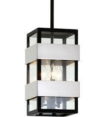 Dana Point 3 light Textured Black Outdoor Pendant  Retail 678 00
