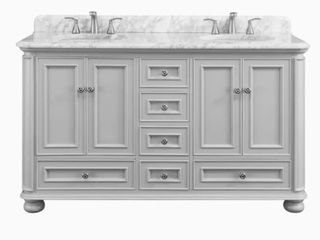 Scott living Wrightsville 60 in Bathroom Vanity  Base Only  Top Not Included
