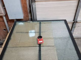 Glass Outdoor Table Top  41 5  x 41 5
