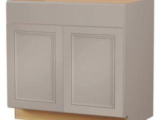 Diamond Now Wintucket 36 in Cabinet Base Grey