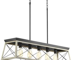 Briarwood Collection Five light linear Chandelier