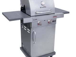 Commercial Series TRU Infrared 2 Burner Gas Grill  Missing Wheel  May Have Been A Display