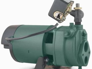 Zoeller  1463 0006    Well Convertible Cast Iron Jet Pump 1hp  9 1gpm  Appears Pre Owned