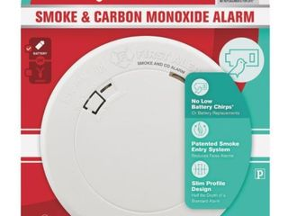 First Alert   Smoke and Carbon Monoxide Alarm with 10 Year Battery