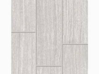 Style Selections leonia Silver Glazed Porcelain Indoor Outdoor Floor Tile 8 Tiles Total