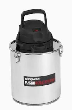 Shop Vac Ash Vacuum Stainless Steel