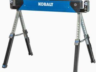 Kobalt 43 in Fixed leg Sawhorse  3 Sawhorse  2 Used  1 New