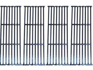Char Griller Cast Uron Cooking Grates Set of 6   1 of 6 Damaged