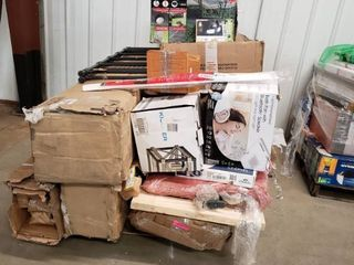 Pallet 2 of Miscellaneous Items  Damaged  Incomplete  Complete  Box 1 of 2
