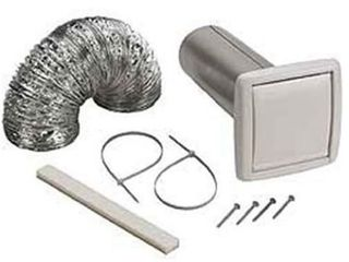 NuTone Flexible Wall Ducting Kit for Ventilation Fans  4 Inch