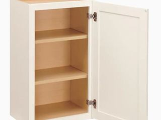 Diamond Now Arcadia Wall Cabinet  15 in W x 30 in H x 12in D  Damage to Corners