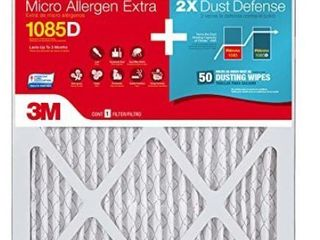 Micro Allergen Extra With Dust Reduction 16 in x 25 in  3 Sets of 2
