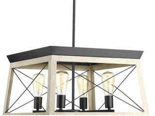 Briarwood Collection 20 in  Four light Chandelier