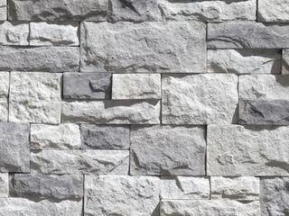 liteStone Flat Shadow Grey 8 sq ft Mixture of Gray Colors Faux Stone Veneer