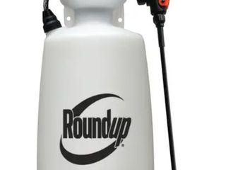 Round Up Weed Sprayer 2 Gallon   Appears Pre Owned