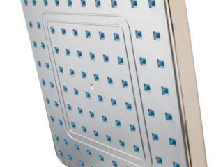 Kingston Brass KX4648 Full Spray Square Rain Shower  Satin Nickel  Appears Pre Owned