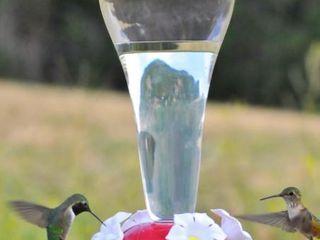 Style Selction Hummingbird feeder 12 oz capacity