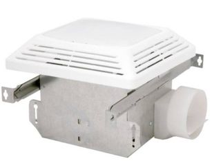 Air King Advantage Exhaust Bath Fan with light  White Finish