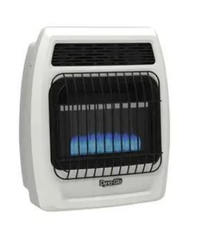Dyna glo 10000 Btu Heater Dual Fuel Propane Or Natural Gas Vent Free