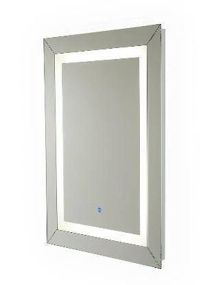 Renin Hardwired lED Illuminated Mirror for Bathroom or Vanity  24 in x 32 in