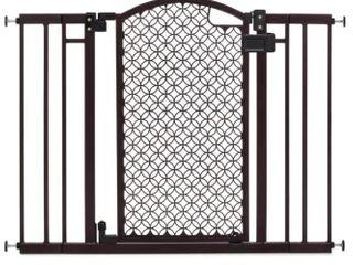 Summer Infant Modern Home Baby Gate  Bronze Black  Bent Frame