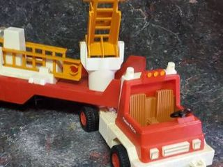 Vintage 1978 Fisher Price Fire Truck