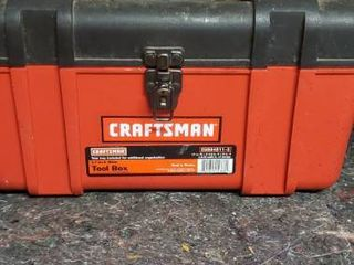17 Inch Tool Box with Organizing Tray