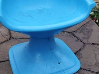 Childs Plastic Swivel Chair