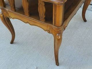 Sold Wood Side Table