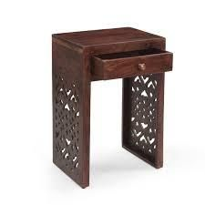 Overton Traditional Mango Wood Bedside Table by Christopher Knight Home   18 00  W x 13 00  D x 27 25  H  Retail 116 49
