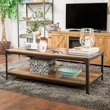 Carbon loft Witten 48 inch Angle Iron Coffee Table  Retail 187 49