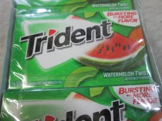 12 Packs of Trident Watermelon Twis...