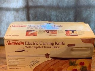 Sunbeam Electric Carving Knife location Kitchen