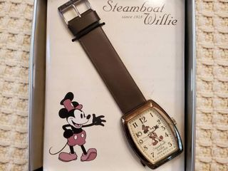 Steamboat Willie Mickey Mouse Watch